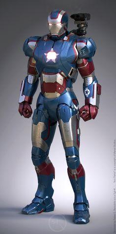 Can't forget War Machine A.k.a Iron Patriot (Although War Machine sounds much more badass) <3