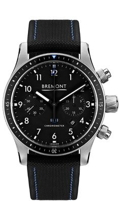 84a2bc31a4b MODEL 247 Stainless Steel BK Boeing Pilot Watch - Bremont