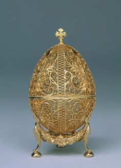 The 19 Most Beautiful Fabergé Eggs for a Dream Easter Basket