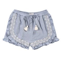 Taroudant Embroidered Shorts Louise Misha Children- A large selection of Fashion on Smallable, the Family Concept Store - More than 600 brands. Older Women Fashion, Fashion Kids, Womens Fashion, Louise Misha, Baby Boutique Clothing, Cool Kids Clothes, Embroidered Shorts, Girl Bottoms, Kids Shorts