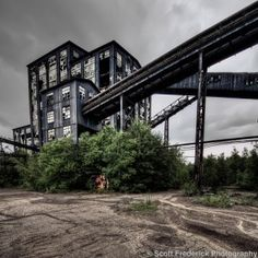 Huber Breaker Ruins: The Art of Industrial Decay