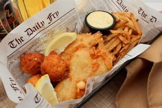 By Mike Stines, Ph.B. Fish and Chips are traditional British fare served up in pubs throughout the United Kingdom and from street vendors – especially near the Thames in London. But you don't need to…