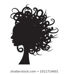Find Vector Illustration Girl Silhouette Long Curly stock images in HD and millions of other royalty-free stock photos, illustrations and vectors in the Shutterstock collection. African American Artist, American Artists, Hair Vector, Girl Silhouette, Images Photos, Illustration Girl, Chipboard, Long Curly, Vector Stock