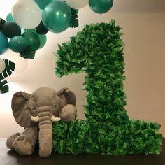 Stuffed animals for decor Lion, elephant, monkey,