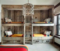 Cool And Functional Built In Bunk Beds Ideas For Kids09