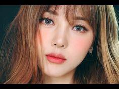 Instagram Makeup - Snowflake Makeup (With subs) 인스타 메이크업 - 눈꽃 메이크업 - YouTube