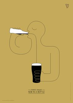 Clio Awards i vincitori della creatività Guinness-Draught-Bottle Creative Advertising, Advertising Poster, Advertising Agency, Advertising Ideas, Ads Creative, Creative Photos, Creative People, Graphic Design Posters, Graphic Design Inspiration