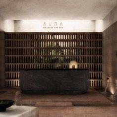 Spa Interior Design, Spa Design, Resort Villa, Resort Spa, Resort Interior, Entrance Design, Minimal Home, Retail Interior, Natural Home Decor