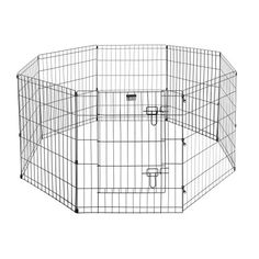 """Pet Trex Exercise Playpen for Dogs with High Panel and Gate, 24 x 30"""" * You can find out more details at the link of the image."""