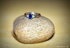 Sapphire Ring on a stone :) #Sapphire #ring #Angara