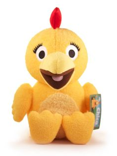Alternate 1st birthday theme: Chica Plush from The Sunny Side Up Show. Plush character retails for $14.99 on ToysRUs.com/BabiesRUs.com. Don't overpay for this item!