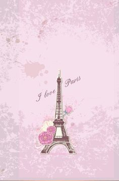 York Wallcoverings PW3910 Girl Power 2 Paris Wallpaper White Background Pink Orange