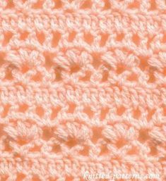 Fleur-de-lis - Crochet Stitch - free pattern. Easy tutorial for how to make this gorgeous crochet stitch. I think I'll use it in one of my next crochet patterns.