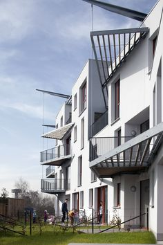 """Completed in 2012 in Brussel, BelgiumThe initial request of the CPAS of Brussels is made in the context of a larger scale with two other projects in the same street: """"Bruyn North"""" (200..."""