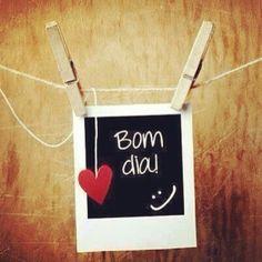 Bom dia ;-)