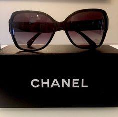 Chanel NWT Black Sunglasses