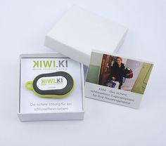 """Der Transponder – genannt """"Ki"""" – bleibt einfach in der Tasche des Nutzers © KIWI.KI GmbH"""
