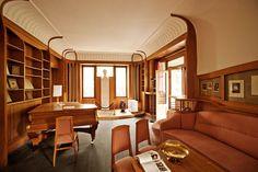 Nietzsche Archiv Weimar, von Henry van de Velde gestalteter Wohnbereich.