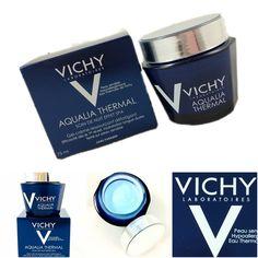 COSMELISTA: VICHY Aqualia Thermal Soin de Nuit Effet Spa Review Photos