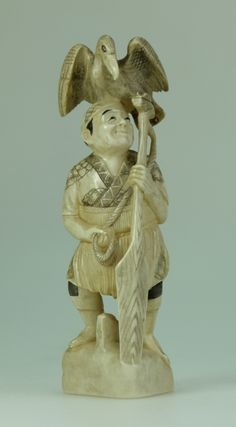Auction of Antiques, Fine Art & Rare Pottery, Militaria, Jewellery &… Oriental, September, Auction, Sunday, Ivory, Pottery, Japanese, Fine Art, Statue