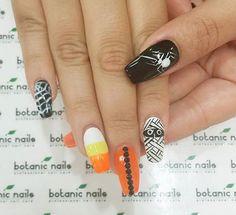Halloween nail art-55 - 65 Halloween Nail Art Ideas  <3 <3