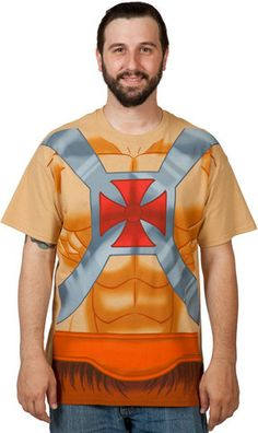 He-Man Costume Shirt