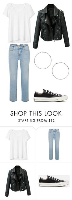 rachel - outfit 1 by electrasweetheart on Polyvore featuring Gap, Frame, Converse and Miss Selfridge