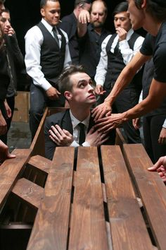 Behind the Scenes: This Is Gospel video. Brendon Urie, Panic! at the Disco.