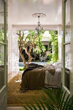 Jurnal de design interior - Amenajări interioare : Motive florale într-o casă din Australia