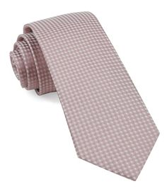 18dccfbeacc5 Be Married Checks Ties - Mauve Stone | Ties, Bow Ties, and Pocket Squares