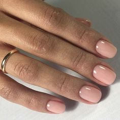 23 Beautiful Nail Art Designs for Coffin Nails - Othence Sns Nails, Gel Nails At Home, Nails Polish, Oval Nails, Nude Nails, Nail Nail, Acrylic Nails, Light Colored Nails, Make Up
