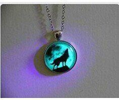 Moon Wolf Necklace Glow in the Dark After Uv Absorption Necklace $6.99 only one left! Noctilucent Necklace Friendship Love Gifts Unique Lovers Gifts necklace http://smile.amazon.com/dp/B00LTFO4BG/ref=cm_sw_r_pi_dp_46REub00SNBMW