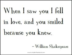 When it came to true love, Shakespeare knew how to write verses that captured the reader's heart and soul. True love is alive and well in his prose. (Re-pins appreciated)