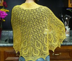 Omelet shawl