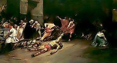 Philippine Paintings: Spolarium by Juan Luna