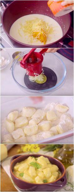 Nhoque Mac&Cheese DIFERENTE, FACIL E RAPIDO, SUCESSO #NHOQUE