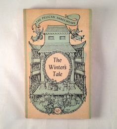 Shakespeare The Winter's Tale, 1950s Vintage Paperback Book, @AnemoneReadsVintage