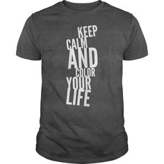 Keep calm and color your life LGBT lesbian gay bisexual transgender tee tshirts t-shirts store rainbows https://www.sunfrog.com/Keep-calm-and-color-your-life-Guys-Dark-Grey.html?42409
