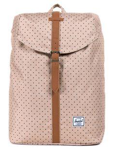 Post backpack polka dot