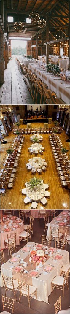 Wedding Reception Table Layout Ideas #wedding #weddingideas #weddingreception