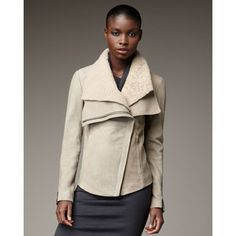 Helmut Lang Shearling Jacket. I DIE. really, I would die for this.