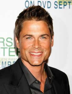 Rob Lowe~  One of my favorite actors during the 80's...still looking good 25 years later!