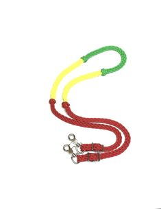 """Showman Nylon Braided Barrel Racing Roping Reins Easy Grip Knots 7 ft x 1/"""" wide"""