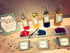 Mimosa Bar  Bridal Shower Tags  Wedding Favor Tags by JaxDesigns27