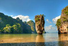 Ko Tapu (james bond island), thailand