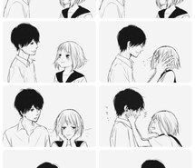 Inspiring image anime, couple, cutee, love, sweet, &lt,3 #2398383 by Lauralai - Resolution 960x1280px - Find the image to your taste