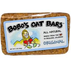 Pin for Later: No Matter Your Diet, We've Found a Bar For You Bobo's Oat Bar