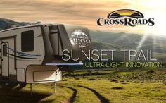 Sunset trail...Ultra-light innovation