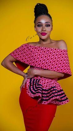 Hello lovelies,Today we bring to you 'Modern Ankara Blouse Styles'. Ankara Blouse, Ankara Dress Styles, African Print Dresses, African Print Fashion, African Fashion Dresses, Blouse Styles, African Dress, Ankara Fashion, African Blouses