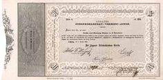Lugauer Steinkohlenbau-Verein Actie Serie A. 36 Thaler 1.10.1849. Gründeraktie (R 9).